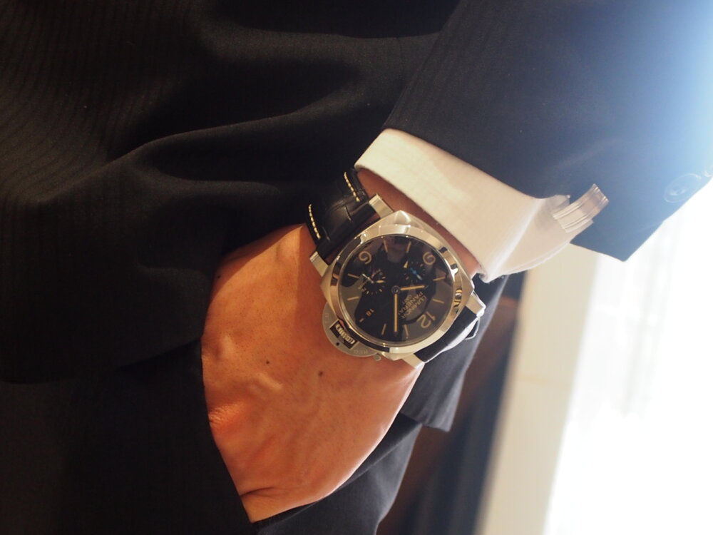 【パネライ】機械式時計デビューの方も使いやすい!!しっかり便利な機能が入ったPAM01321-PANERAI -P9010042