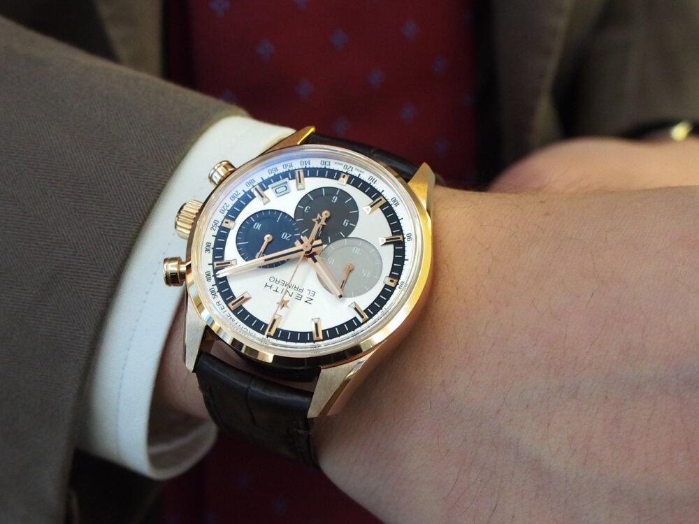 【ゼニス】控えめサイズでさり気なく高級時計を楽しむ!~エル・プリメロ 38mm~-ZENITH -PA080274