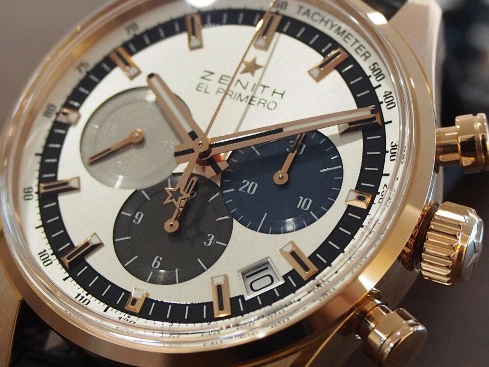 【ゼニス】控えめサイズでさり気なく高級時計を楽しむ!~エル・プリメロ 38mm~-ZENITH -PA080281