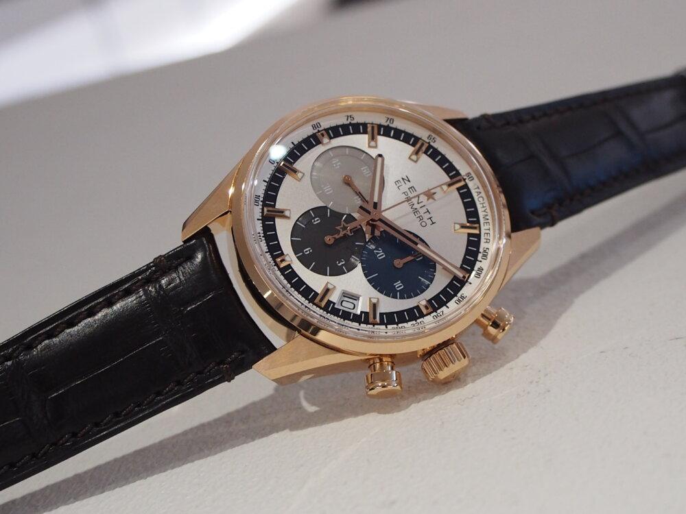 【ゼニス】控えめサイズでさり気なく高級時計を楽しむ!~エル・プリメロ 38mm~-ZENITH -PA080283