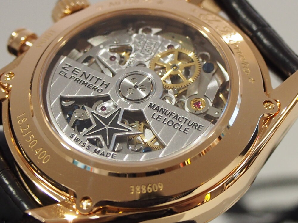 【ゼニス】控えめサイズでさり気なく高級時計を楽しむ!~エル・プリメロ 38mm~-ZENITH -PA080290