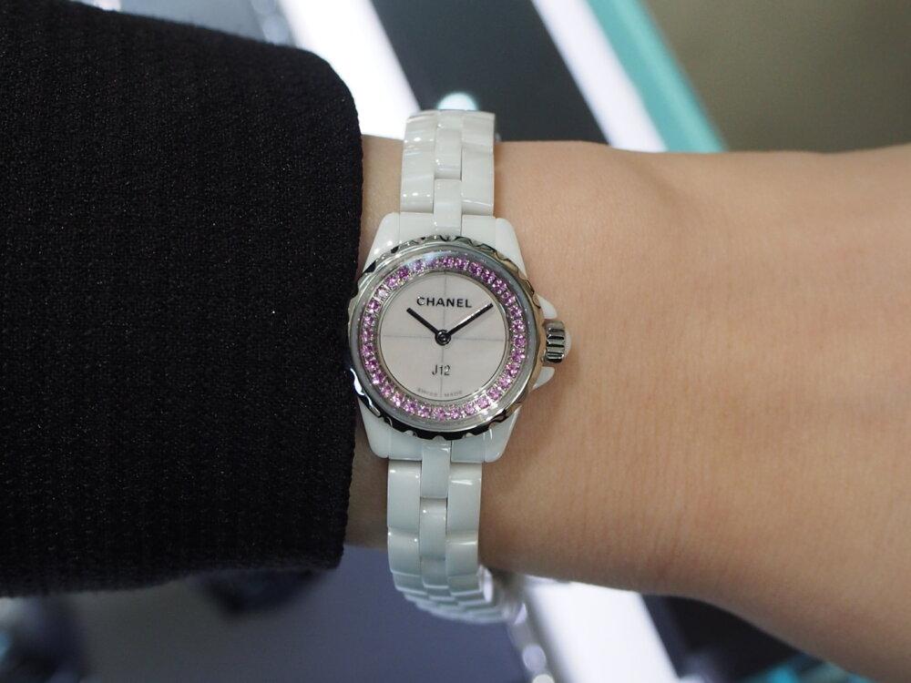 【シャネル】ピンクを基調とした愛嬌たっぷりの「J12 XS コレクター」をご紹介!-CHANEL -PB050531