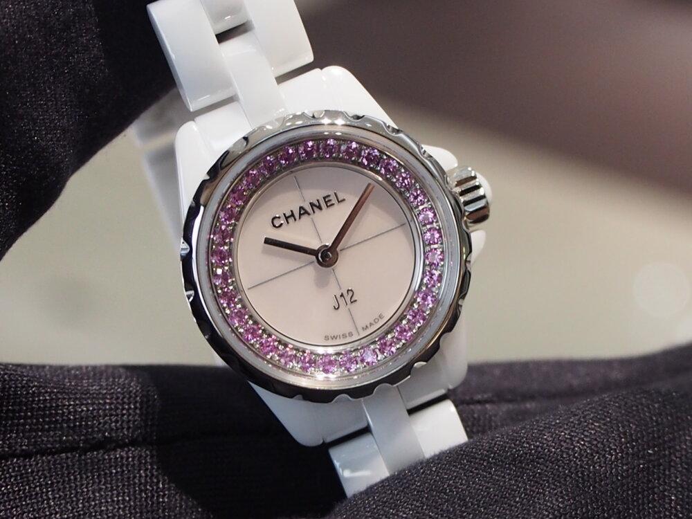 【シャネル】ピンクを基調とした愛嬌たっぷりの「J12 XS コレクター」をご紹介!-CHANEL -PB050545