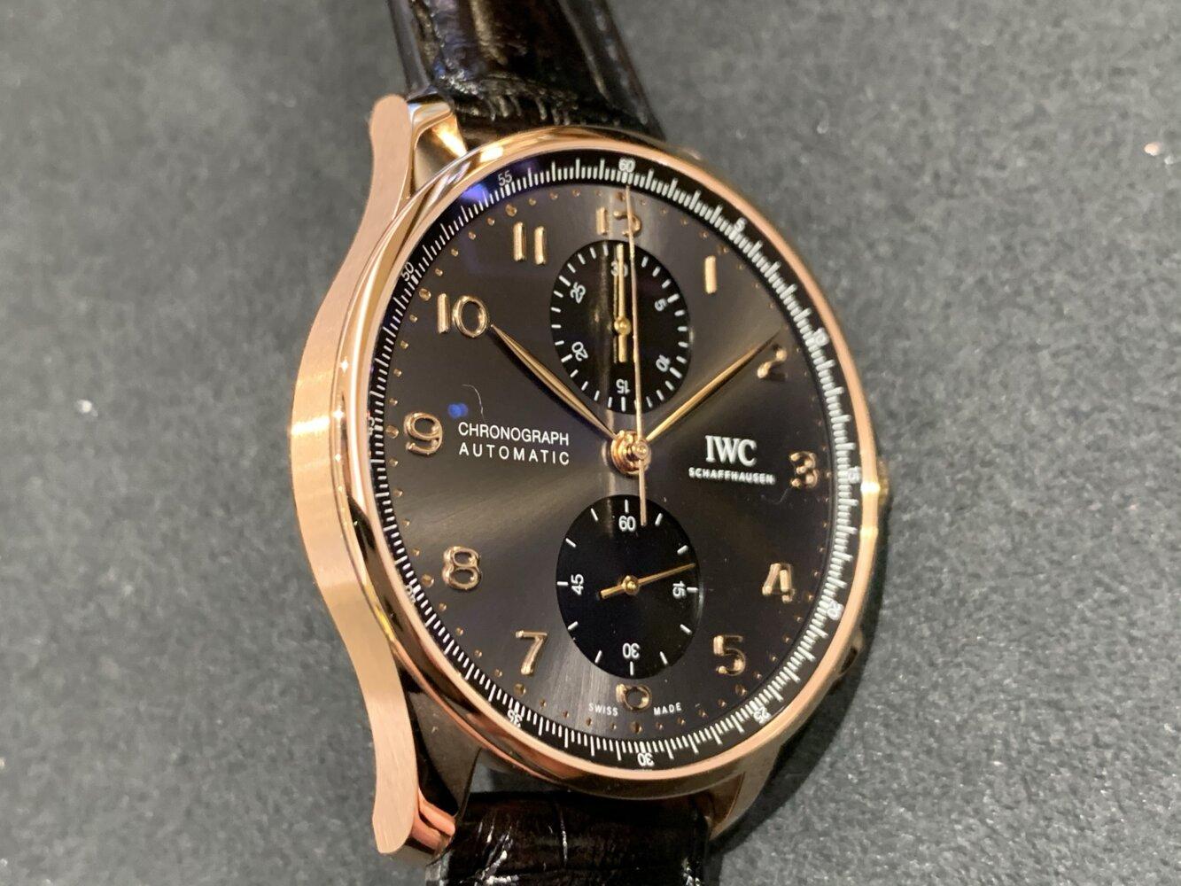 IWC / 新型ポルトギーゼ・クロノグラフ 18Kレッドゴールドモデルもマイナーチェンジ。-IWC -img_7228