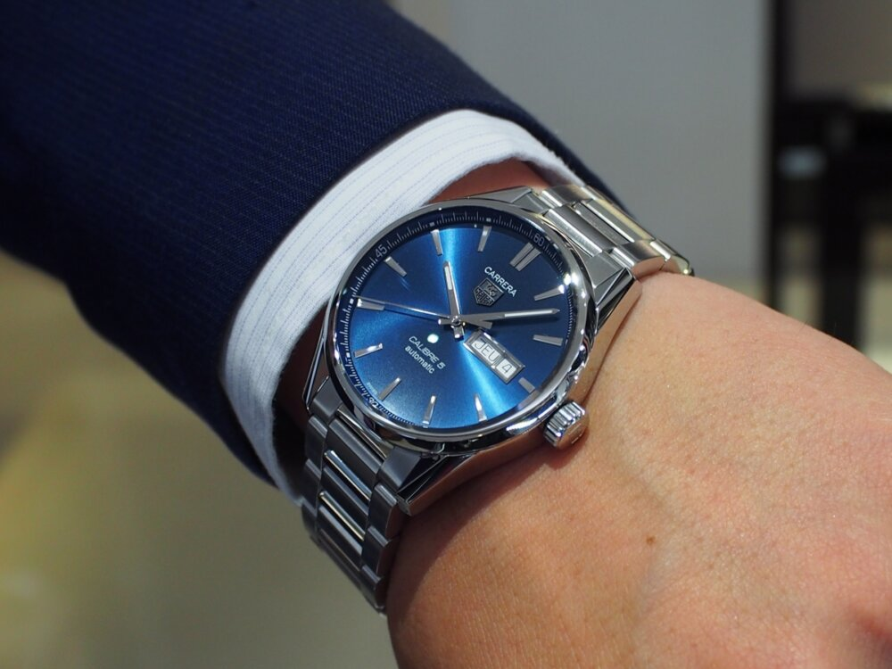 成人・新社会人になったお祝いにオススメの腕時計のご紹介♪-BREITLING MAURICE LACROIX NORQAIN TAG Heuer -P7280489