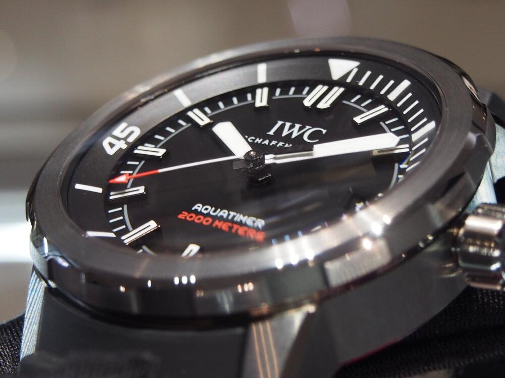 """僅か350本のみ限定生産モデル""""ポルシェデザイン""""「アクアタイマー・オートマティック 2000」-IWC -PC250950"""
