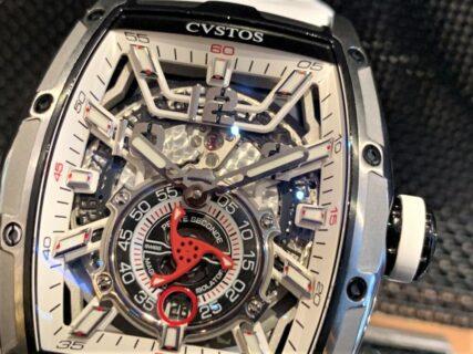 クストス 新作「ジェットライナーⅡ」は機械式時計の天敵《磁石》を搭載!?
