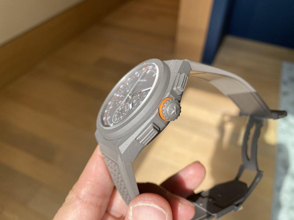 ゼニス新作『デファイ エル・プリメロ21 ランドローバー』 世界限定僅か250本生産特別モデル-ZENITH -IMG_1709