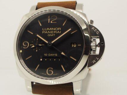 パネライの技術が詰まった【ルミノール GMT 10デイズPAM00533・PAM00986】再入荷。
