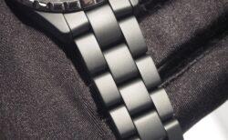 艶消しマットブラックセラミックが男性らしい『シャネル J12 GMT』H3101