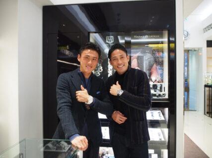 2020年シーズンから京都サンガF.C.へ加入の李忠成選手と森脇良太選手がご来店下さいました☆