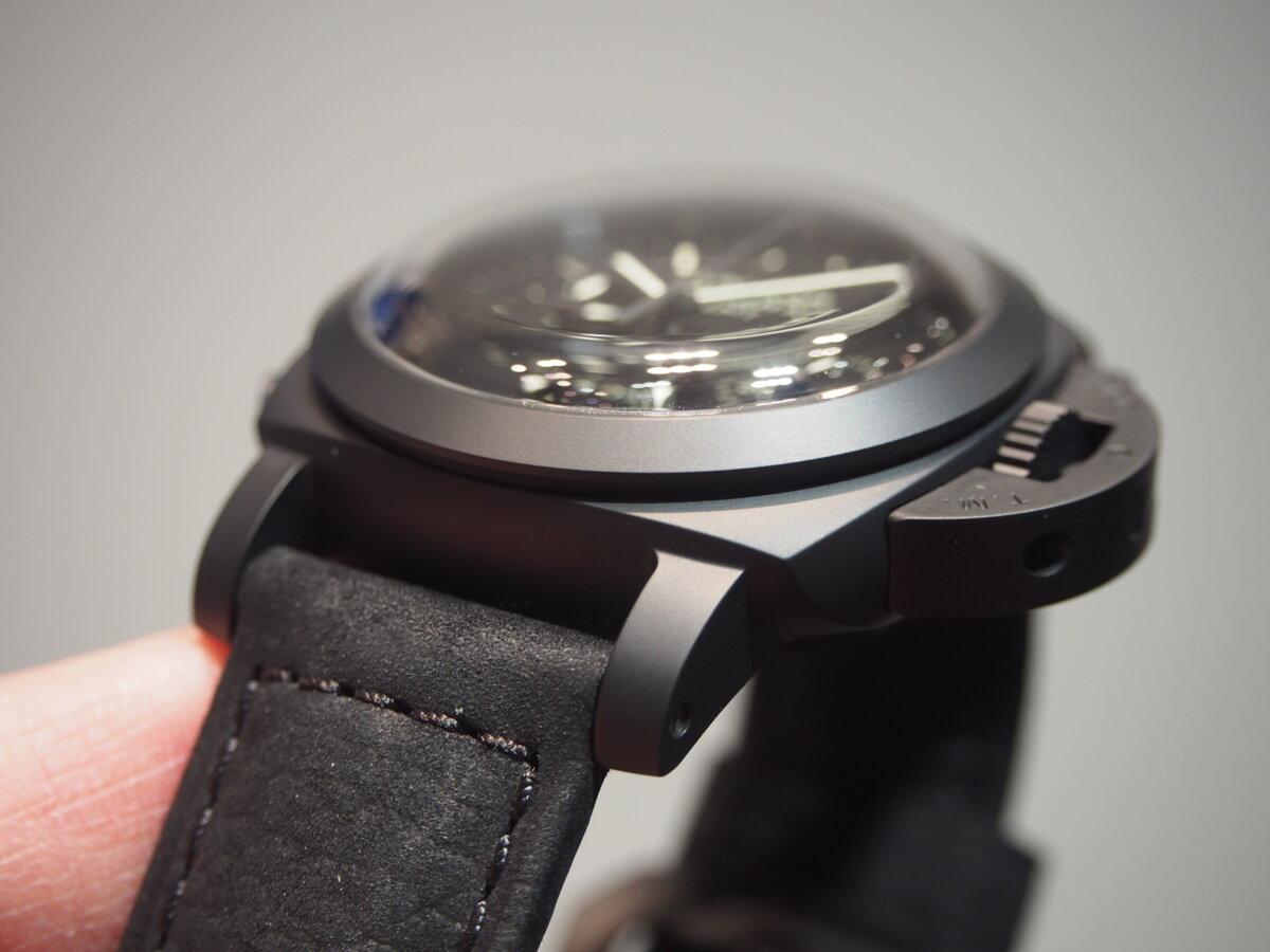 【生産終了モデル】パネライ / ルミノール クロノ モノプルサンテ 8デイズ GMT (PAM00317)-PANERAI -P2150424