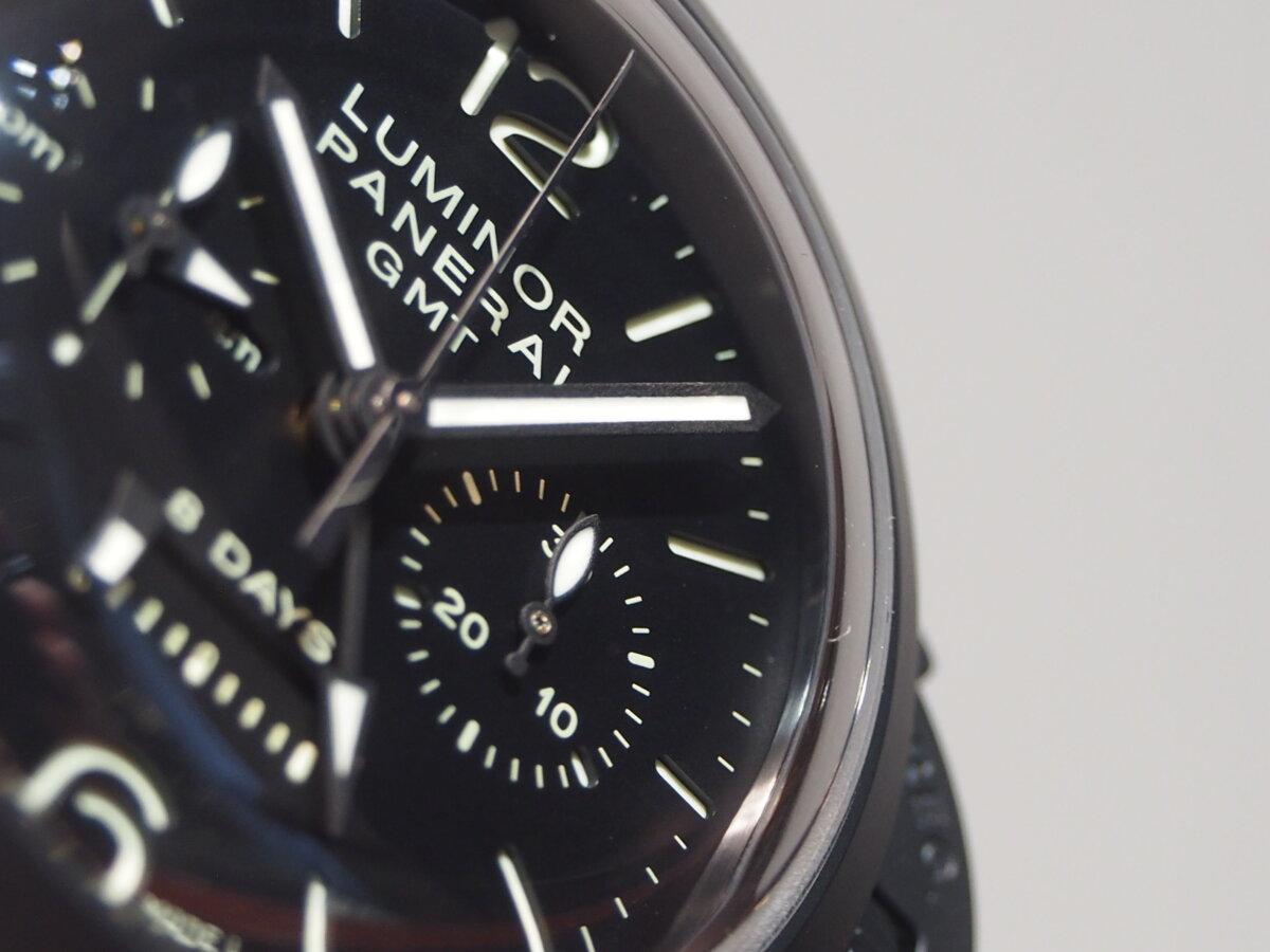 【生産終了モデル】パネライ / ルミノール クロノ モノプルサンテ 8デイズ GMT (PAM00317)-PANERAI -P2150425