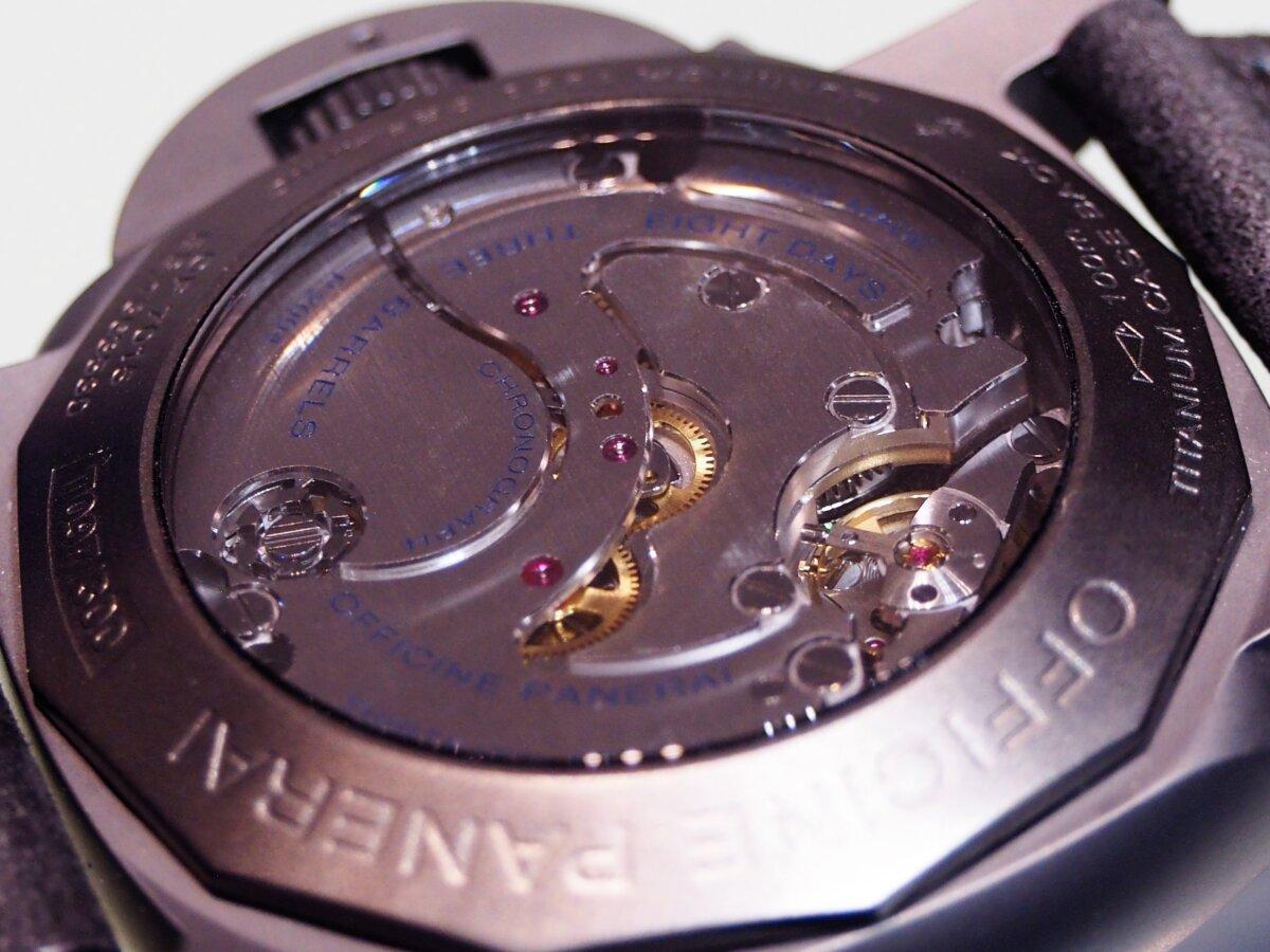 【生産終了モデル】パネライ / ルミノール クロノ モノプルサンテ 8デイズ GMT (PAM00317)-PANERAI -P2150426