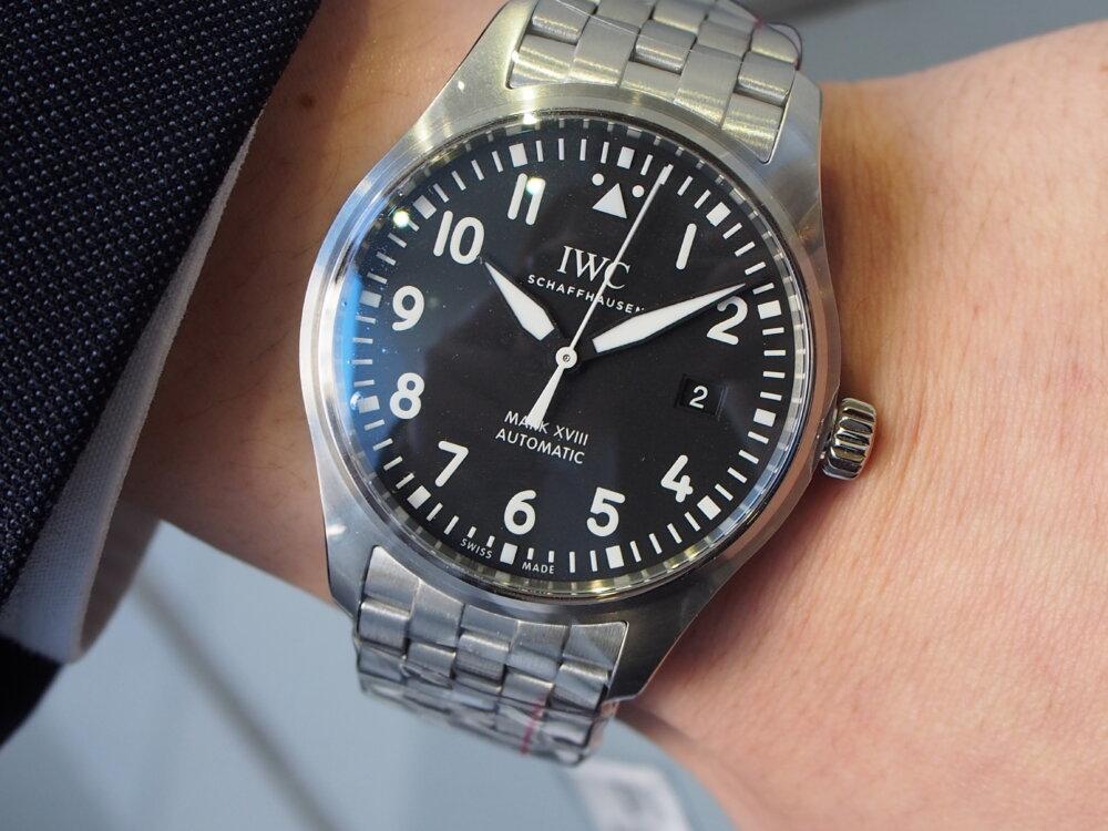IWC「パイロット・ウォッチ・マーク18」 #人生の節目に腕時計を-IWC -P3231944