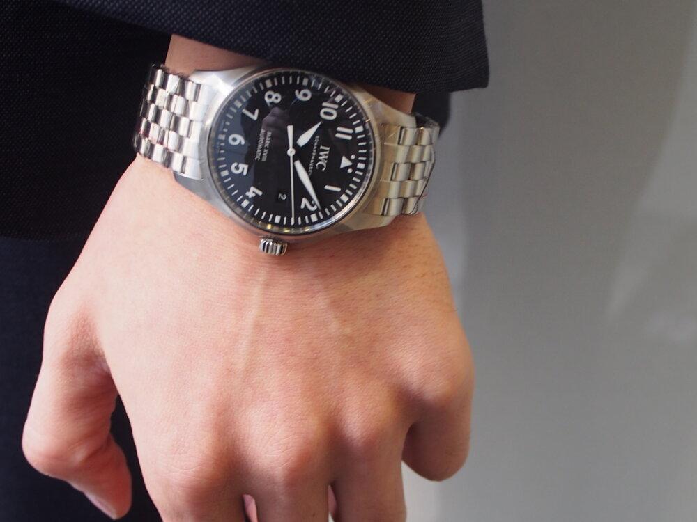 IWC「パイロット・ウォッチ・マーク18」 #人生の節目に腕時計を-IWC -P3231946