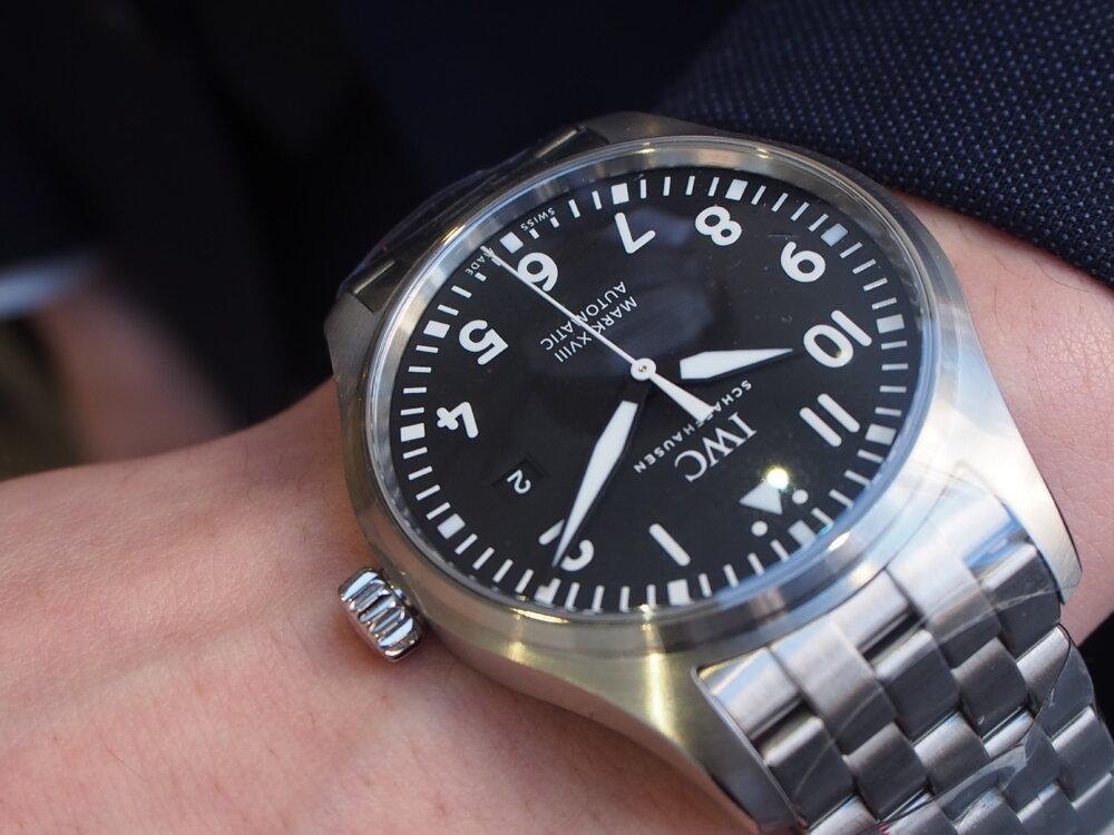IWC「パイロット・ウォッチ・マーク18」 #人生の節目に腕時計を-IWC -P3231954