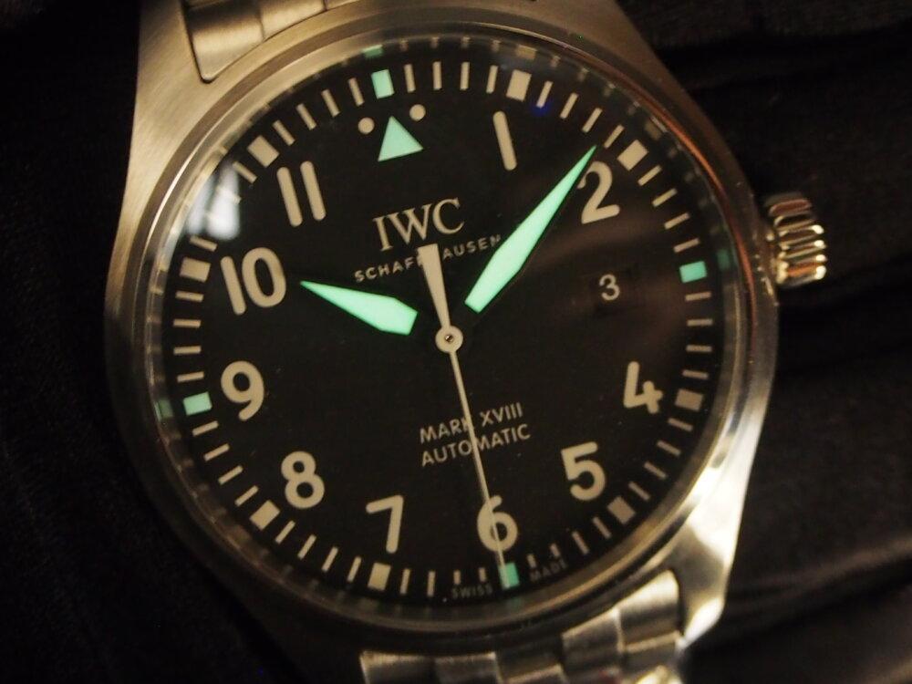 IWC「パイロット・ウォッチ・マーク18」 #人生の節目に腕時計を-IWC -P3231957