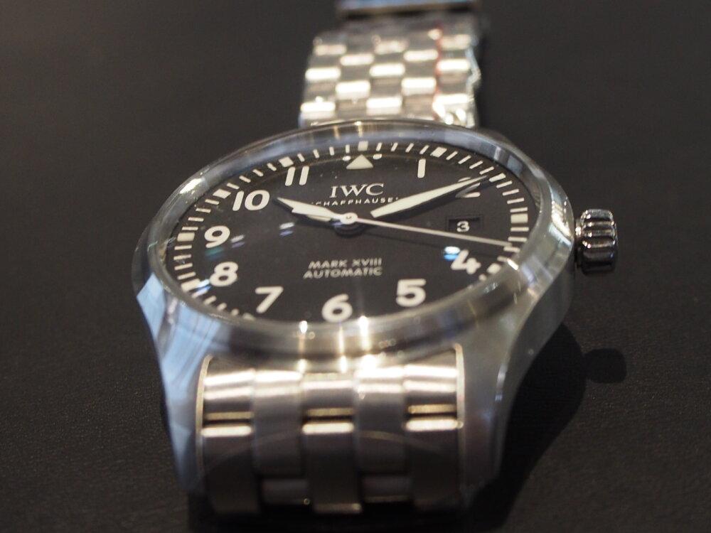 IWC「パイロット・ウォッチ・マーク18」 #人生の節目に腕時計を-IWC -P3231961