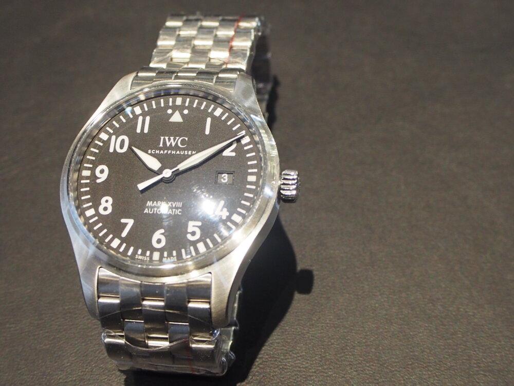 IWC「パイロット・ウォッチ・マーク18」 #人生の節目に腕時計を-IWC -P3231970