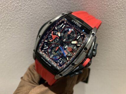 【クストス】超高級時計をスポーティーに着けこなす!~チャレンジ クロノⅢ-S~