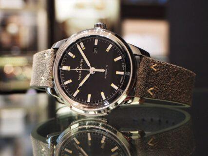 【ノルケイン】1960年代の時計に敬意を表して… シンプルでクラシカルな『フリーダム 60 オート』