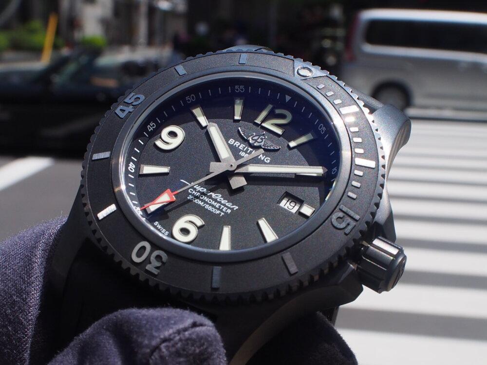 【ブライトリング】驚愕の防水性に圧倒~スーパーオーシャン オートマチック 46~-BREITLING -P5052526