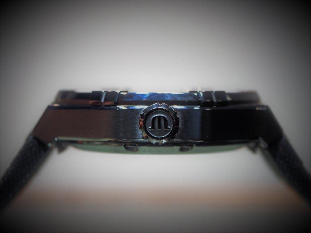 """【モーリス・ラクロア】""""BLACK IS BEAUTIFUL"""" アイコン オートマチック スケルトン 限定モデル-MAURICE LACROIX -P5122589"""