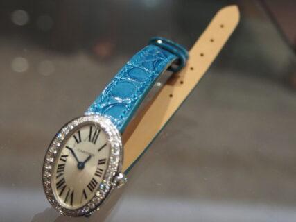 【ジャン・ルソー】女性らしい華やかなカラーを使ったオーダーストラップが完成!