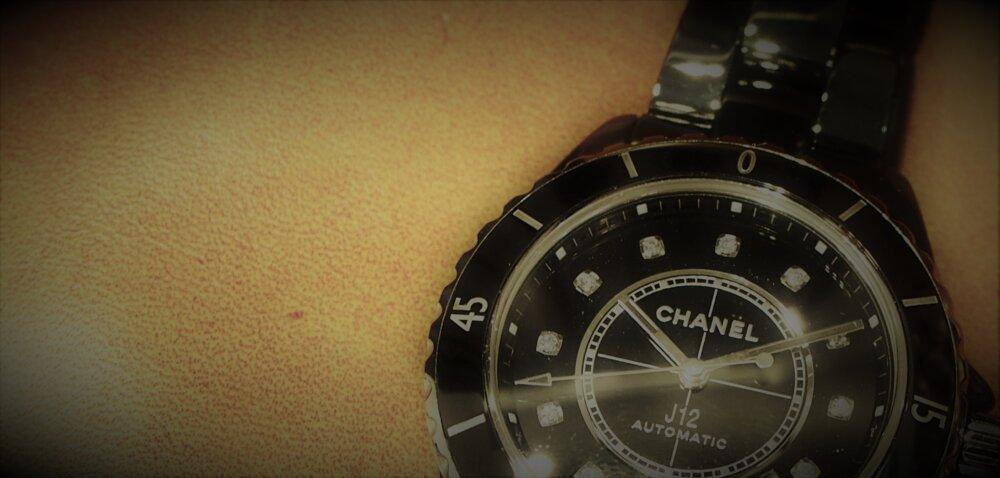 【シャネル】J12 セラミックとブラックの組み合わせが可愛い!-CHANEL -P7273768-2