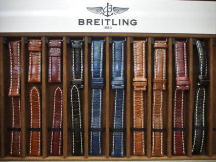 【ブライトリング】あなたの時計も秋仕様に!ベルト交換で雰囲気を変えてみては?