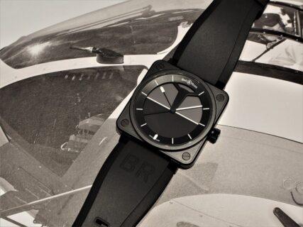 【ベル&ロス】個性的なデザインは航空機の計器がルーツ!BR01-92 ホライゾン