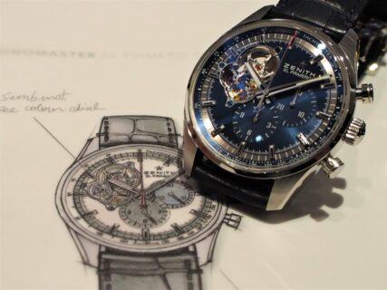 【ゼニス】時計職人シャルル・ベルモ氏の存在が詰め込まれた特別な一品。ゼニスの歴史を腕元に。
