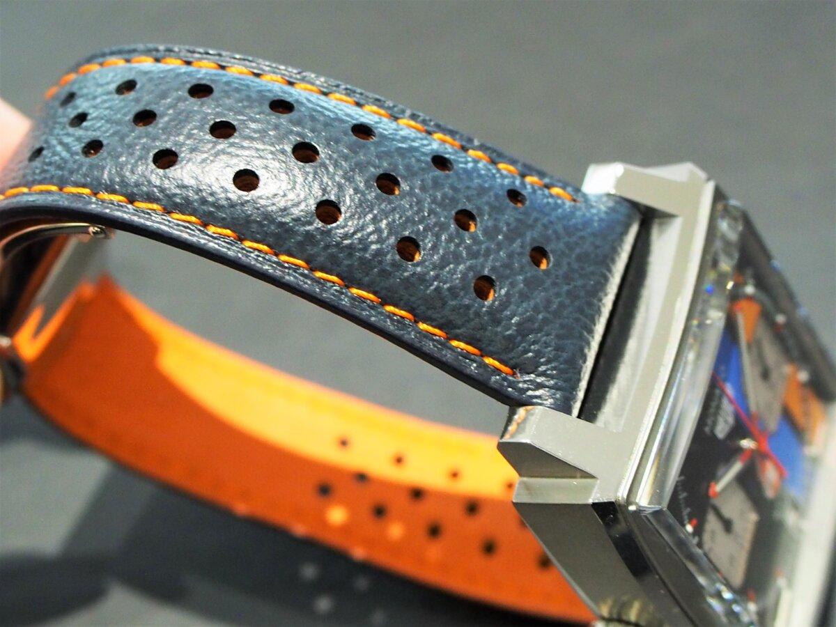【タグ・ホイヤー】唯一無のデザインが特徴のモナコ ガルフエディションをご紹介-TAG Heuer -91a60bec0b5c60676fc7f7726e0704e3