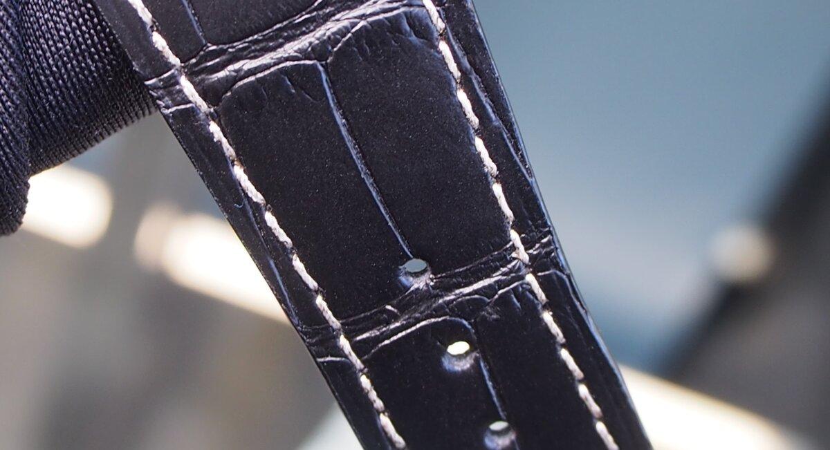 【クストス】ブラックダイヤが存在感溢れる、ラグジュアリーな一本。チャレンジクロノⅡ-CVSTOS -PC256852