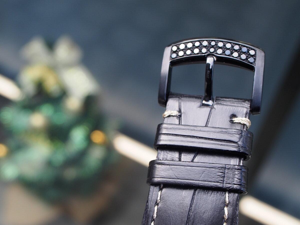 【クストス】ブラックダイヤが存在感溢れる、ラグジュアリーな一本。チャレンジクロノⅡ-CVSTOS -PC256853