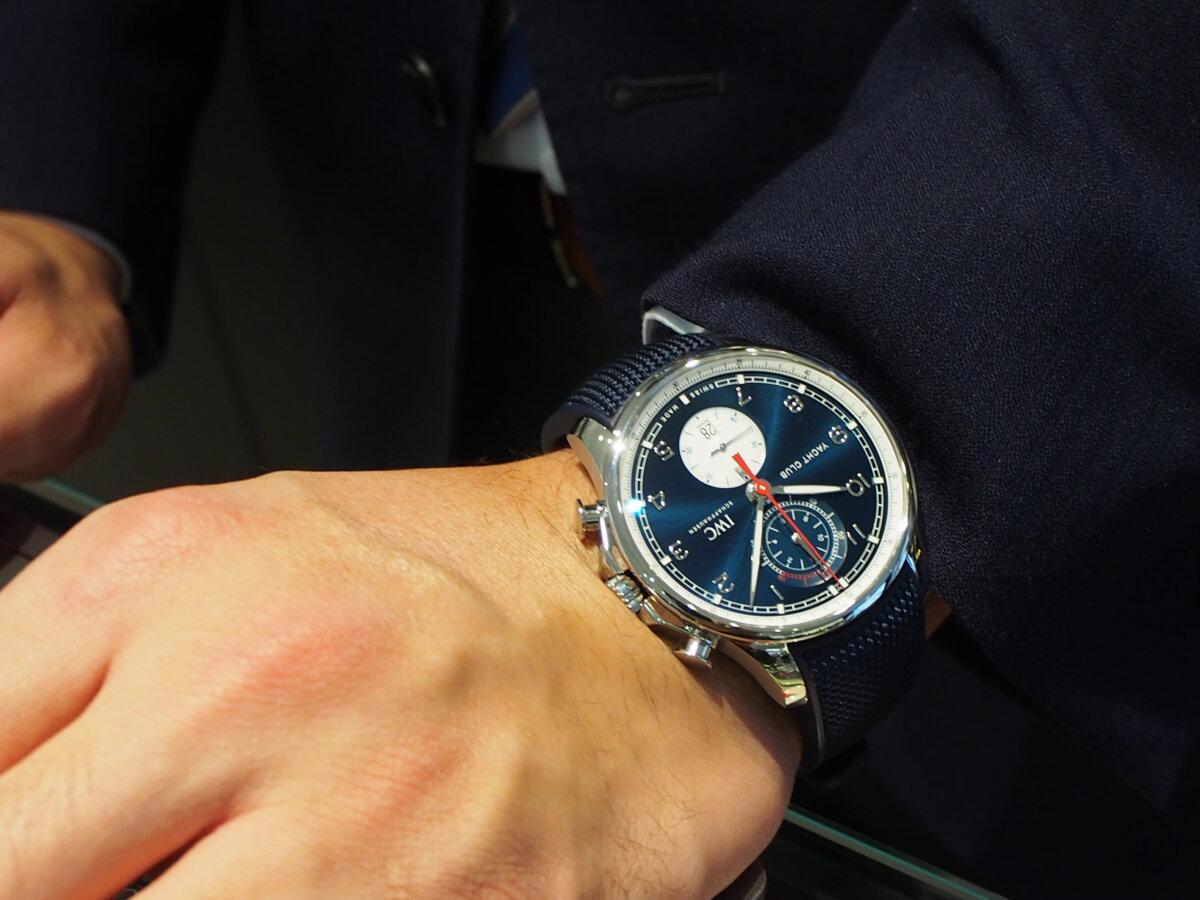 時計もコラボモデルが人気!英国の名門ファッションブランドとIWCのパートナーシップ記念モデル-IWC -PC276909
