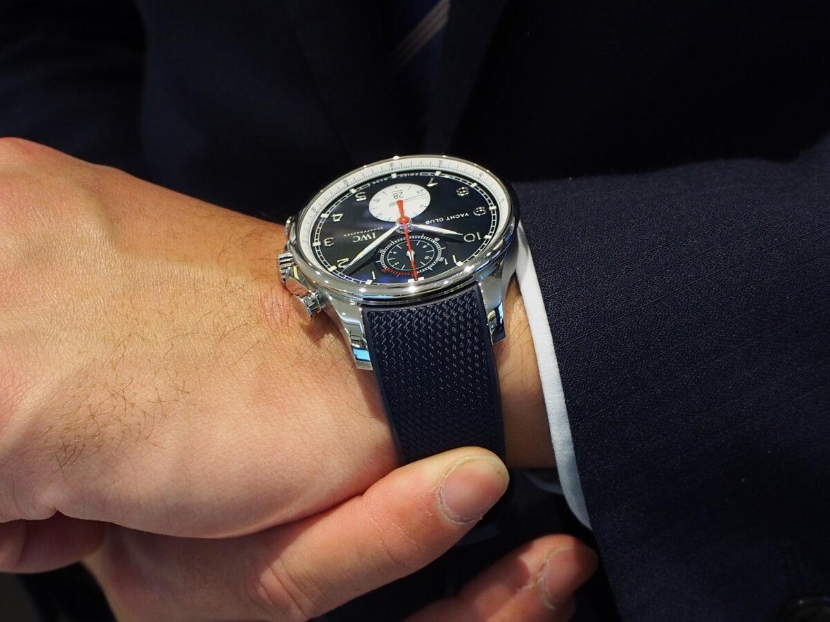 時計もコラボモデルが人気!英国の名門ファッションブランドとIWCのパートナーシップ記念モデル-IWC -PC276912