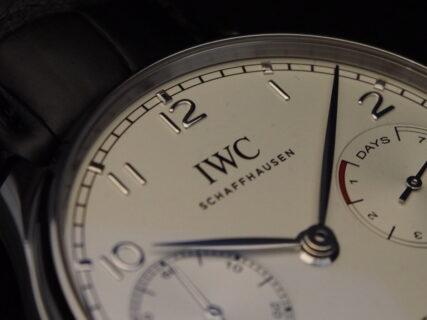 【IWC】7日間のパワーリザーブを備えたハイスペックな1本 ~ポルトギーゼ・オートマティック~