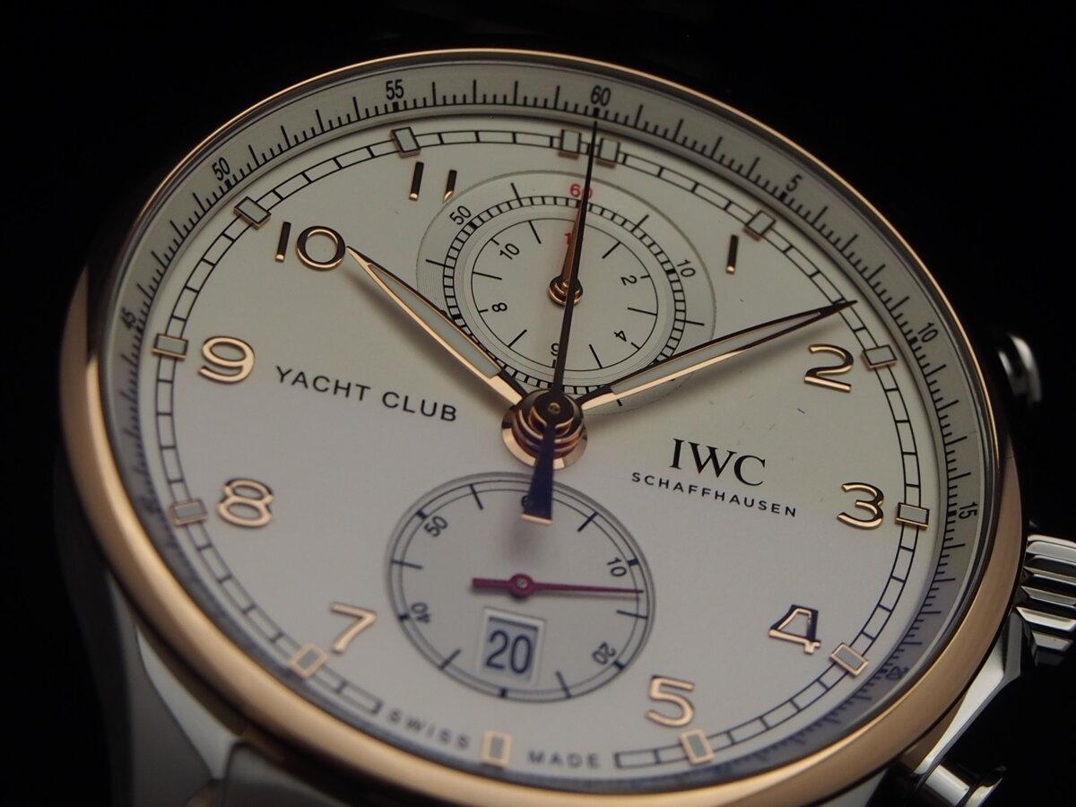 【IWC】ポルトギーゼ・ヨットクラブにコンビブレスレットを合わせると?-IWC -P2200574
