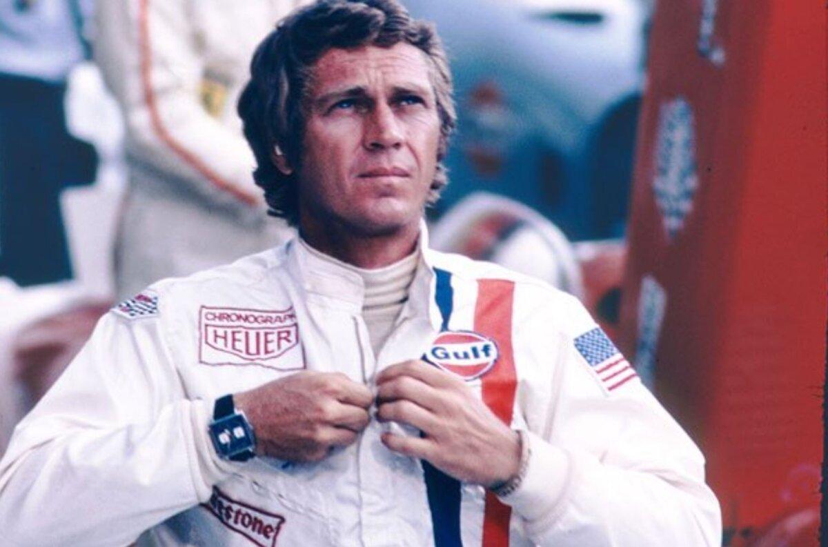 1971年公開の「栄光のル・マン」のスポンサー契約から生まれた特別なモデル「モナコ ガルフエディション」-TAG Heuer -Steave-McQueens
