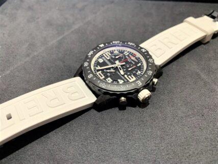 【お客様の時計紹介】ブライトリング 「エンデュランスプロ」ホワイトにブラックラバーをつけると?