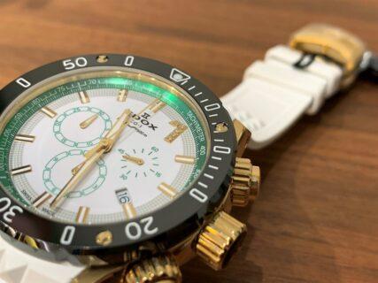 エドックス創設135周年を記念し登場した「ダイヤモンド」がセットされたクロノオフショア1 リミテッドエディション
