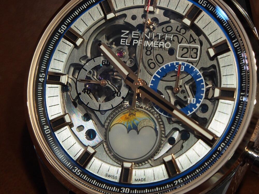 """将来受け継いでいきたい時計ブランド""""ゼニス""""の魅力がたっぷり詰まった1本、エル・プリメロ グランドデイト フルオープン。-ZENITH -P7262716"""