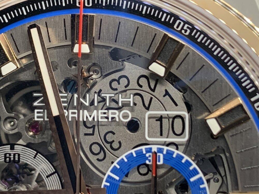 """将来受け継いでいきたい時計ブランド""""ゼニス""""の魅力がたっぷり詰まった1本、エル・プリメロ グランドデイト フルオープン。-ZENITH -S__22126602"""