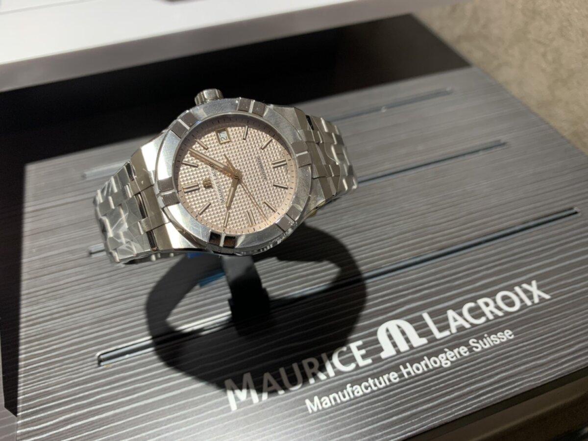 もうすぐ母の日!女性でも着けられるメンズ機械式時計-MAURICE LACROIX ZENITH -S__24625154