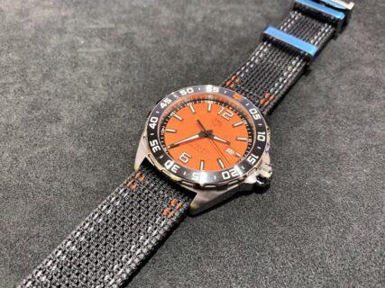80年代・90年代の時計のような懐かしさが魅力的なタグ・ホイヤー「フォーミュラ1 クォーツ」