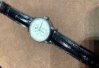 【ジャン・ルソー】ブラックアリゲーター×ラバー素材のこだわりオーダーストラップをご紹介
