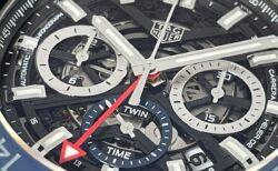 【タグ・ホイヤー】クオリティーもコストパフォーマンスも最高の1本、カレラ キャリバー ホイヤー02 クロノグラフ GMT
