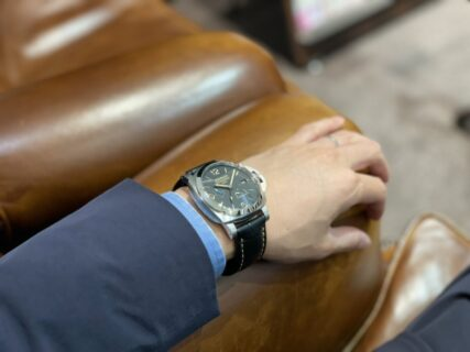 革新的な技術とイタリアンスタイルの融合 ~ルミノール GMT パワーリザーブ~